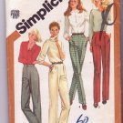Simplicity Sewing Pattern 5205 Misses Pants Trouser Cut Size 12 Vintage © 1981 Uncut