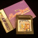 Beauty and the Beast: A Board Game Adventure (Game Boy Color)