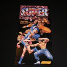 Super Street Fighter Poster (Nintendo Power)