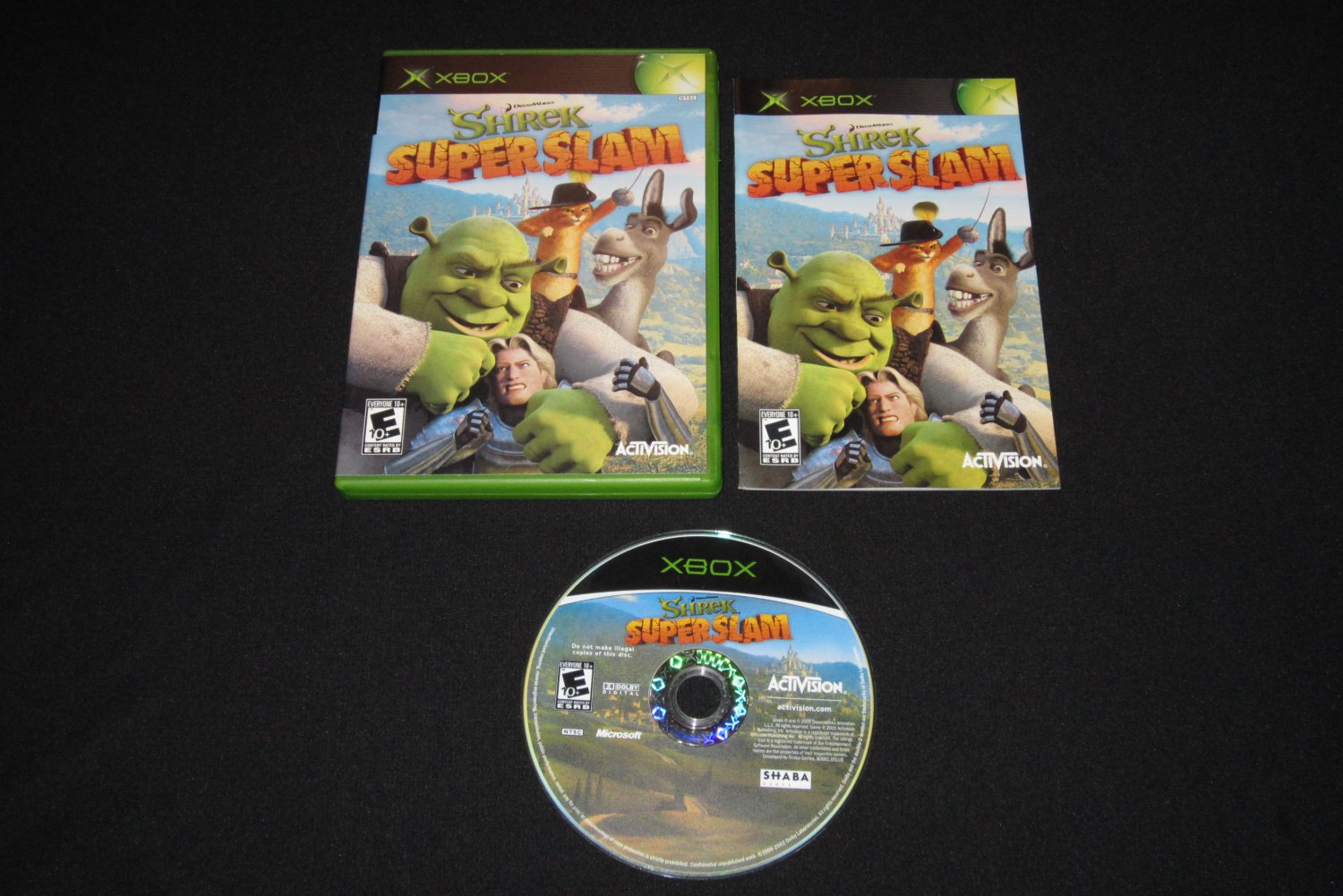 Shrek SuperSlam (Xbox)
