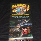 Rampage 2: Universal Tour Poster (Nintendo Power Volume: 117)