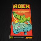 The Incredible Hulk Poster (Nintendo Power)