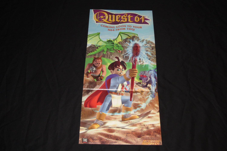 Quest 64 Poster (Nintendo Power)