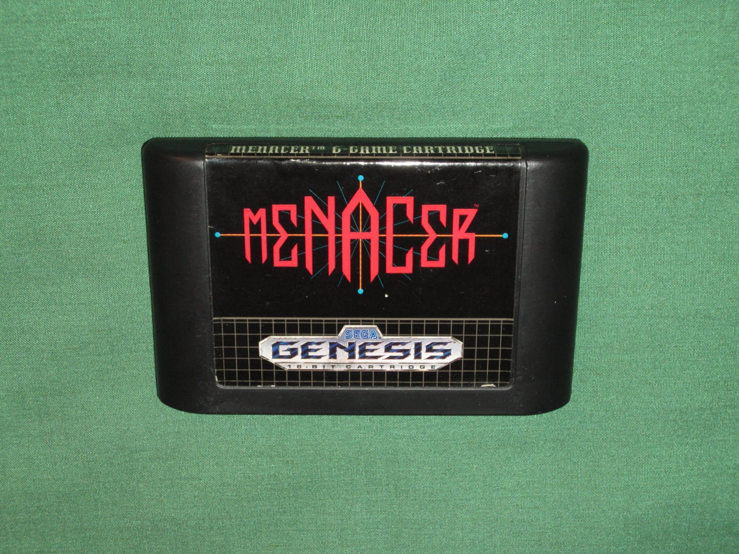 Menacer 6-Game Cartridge (Genesis)