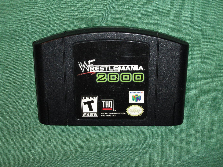 Wrestlemania 2000 (N64)