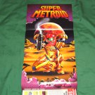Super Metroid Poster (Nintendo Power Volume: 57)