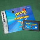 Pong / Asteroids / Yars' Revenge (Game Boy Advance)