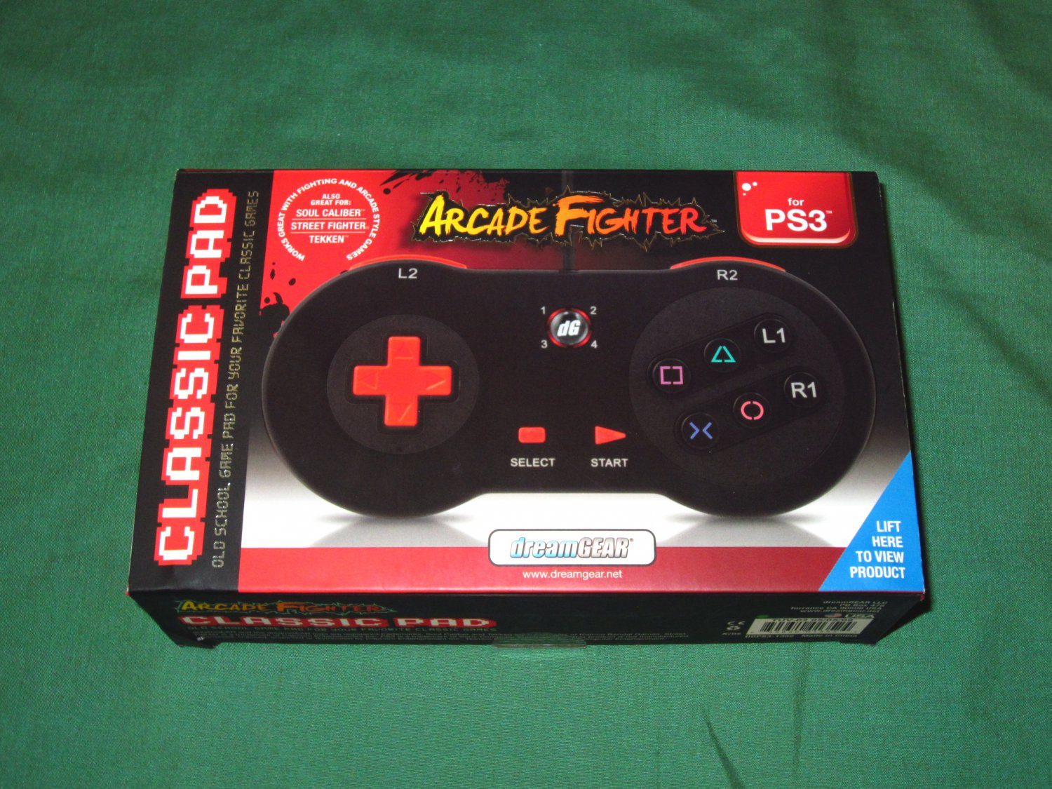 DreamGear Classic Arcade Fighter Pad (Playstation 3)
