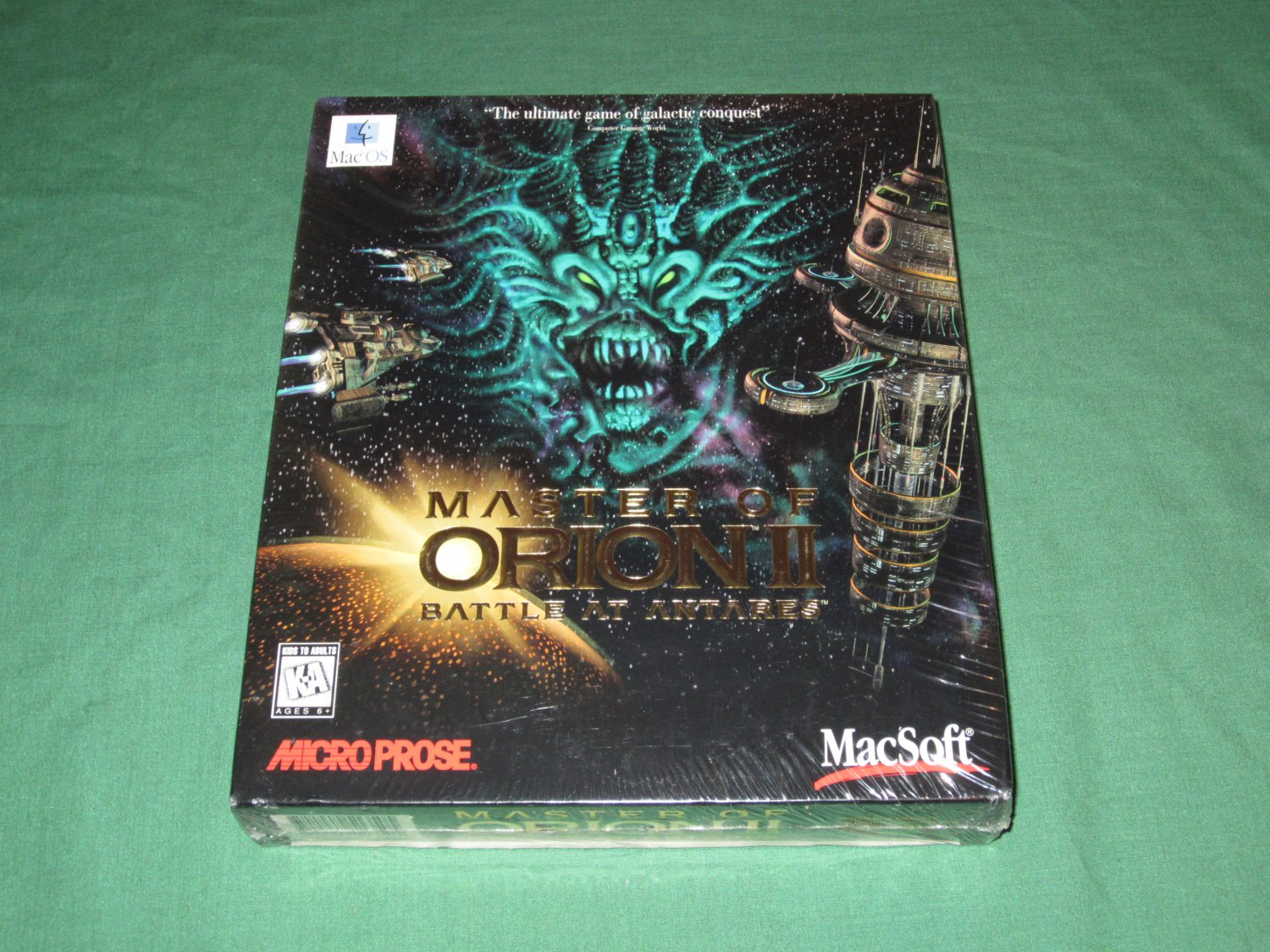 Master of Orion II: Battle at Antares (MAC)