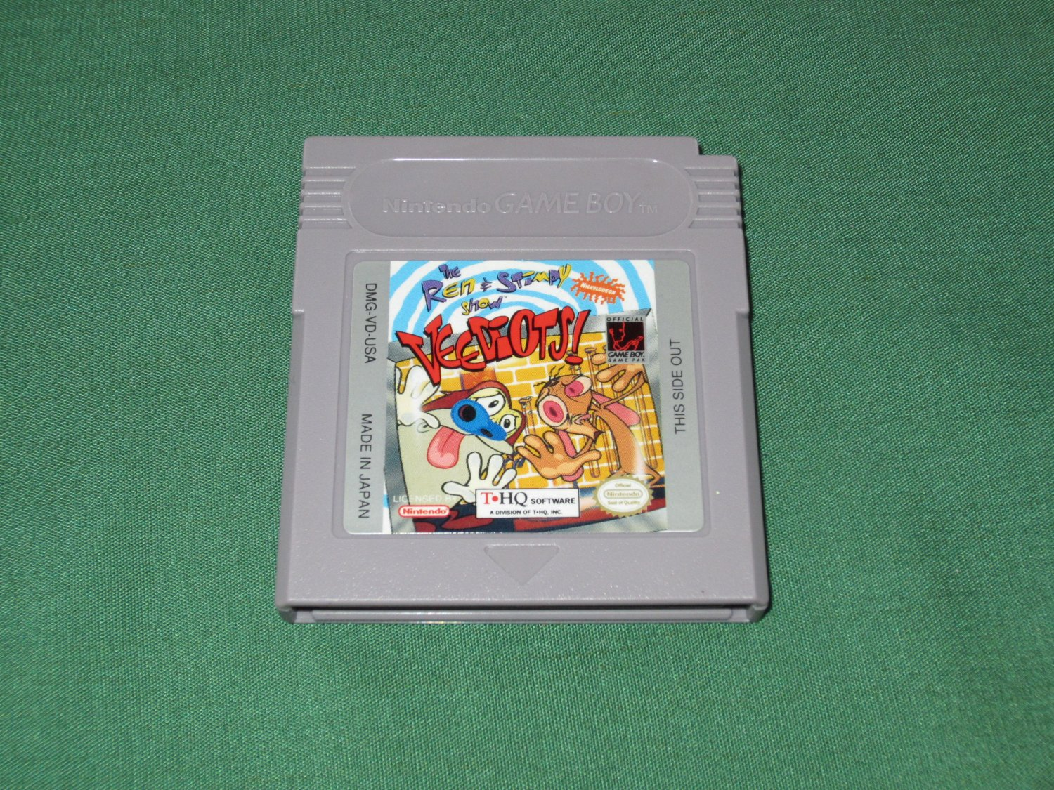 The Ren & Stimpy Show: Veediots! (Game Boy)