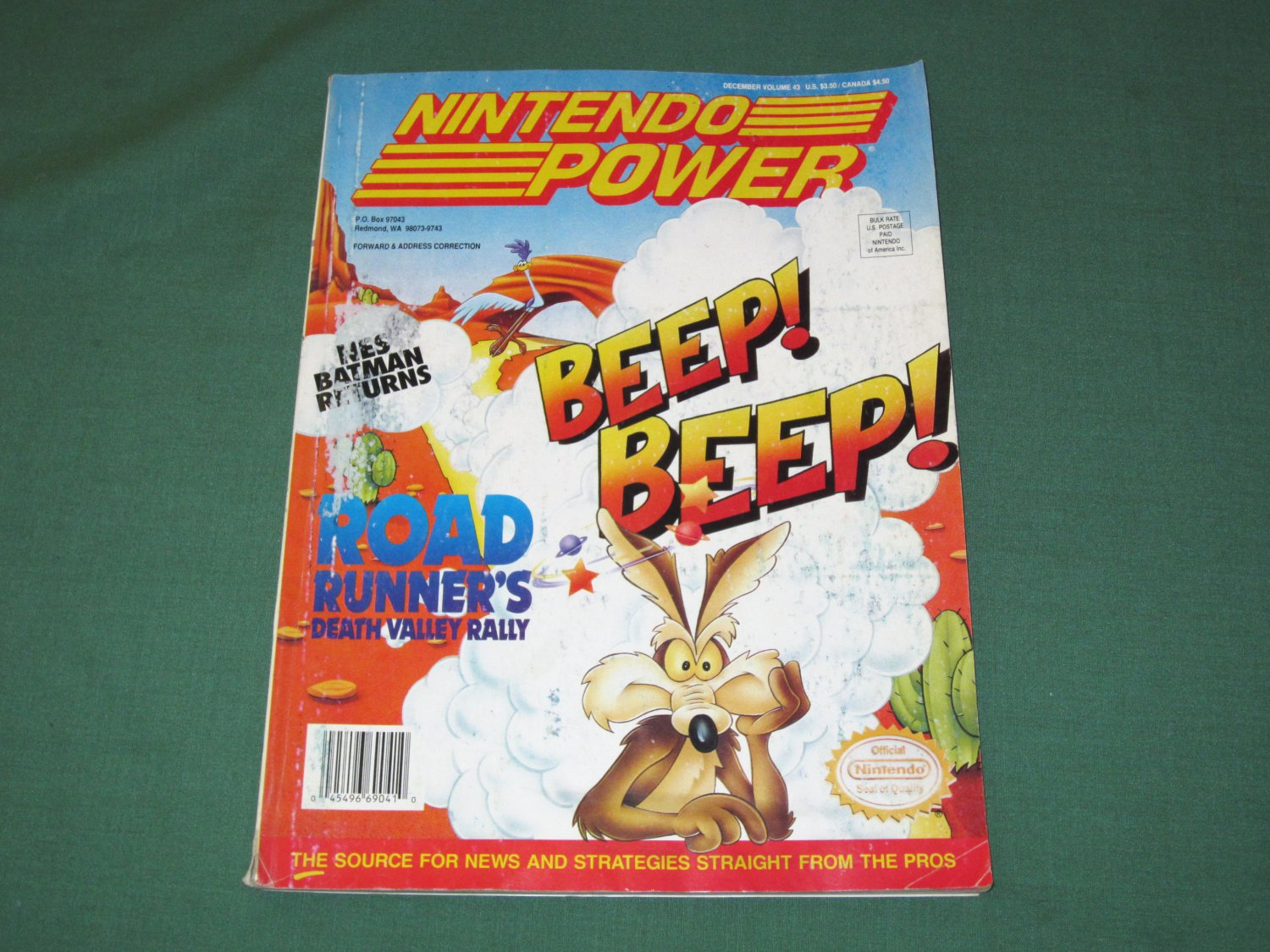 Nintendo Power Volume 43 (Lost Vikings Poster)