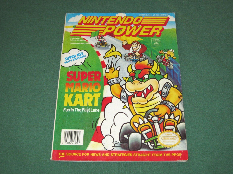 Nintendo Power Volume 41 (Road Runner's Death Valley Rally Poster)