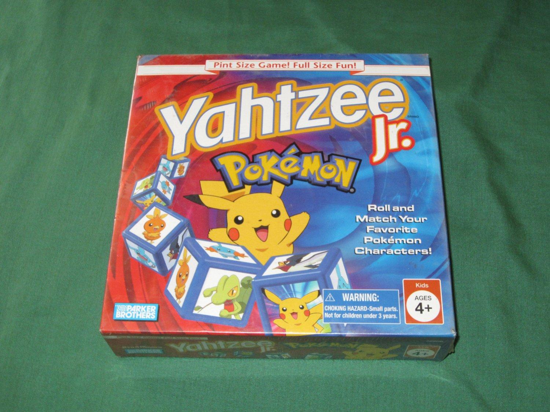 Yahtzee Jr. Pokemon Edition