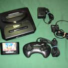 Sega Genesis Console + Sonic The Hedgehog