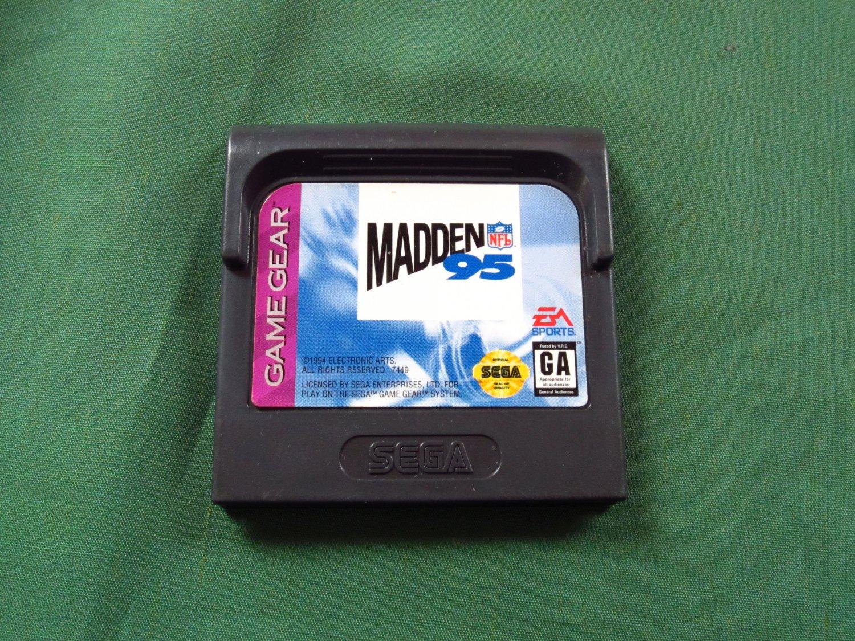 Madden NFL 95 (Game Gear)