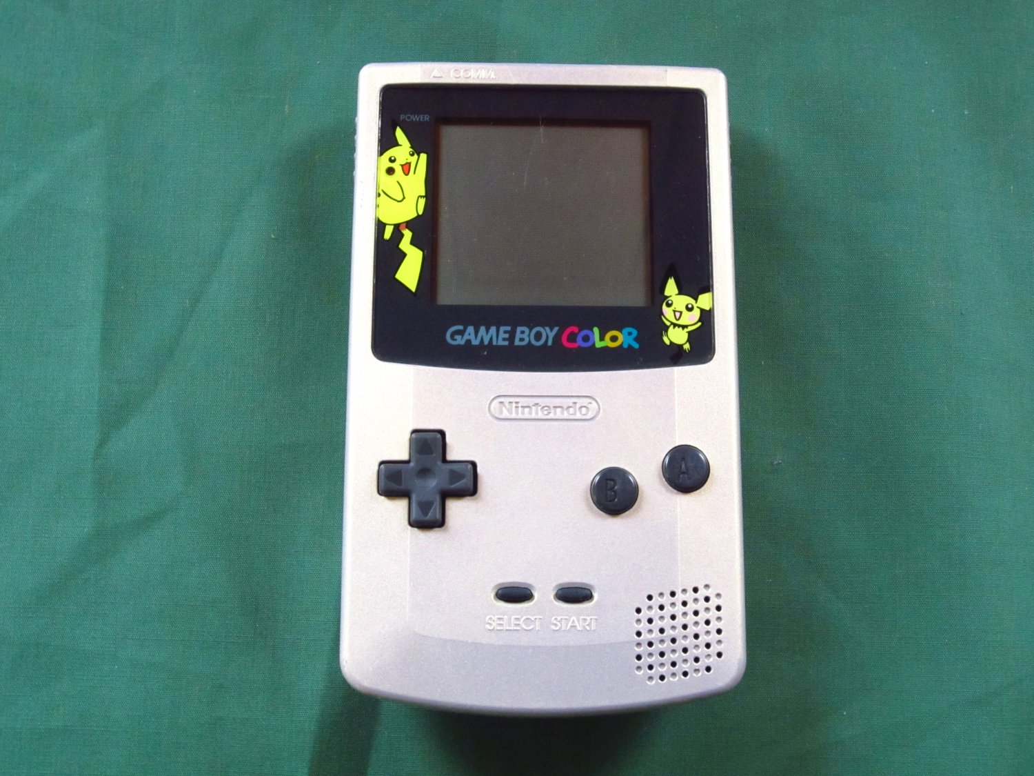 Nintendo Game Boy Color Gold/Silver Edition