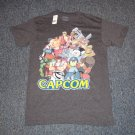 Capcom Street Fighter & Mega Man Character T-Shirt (S)