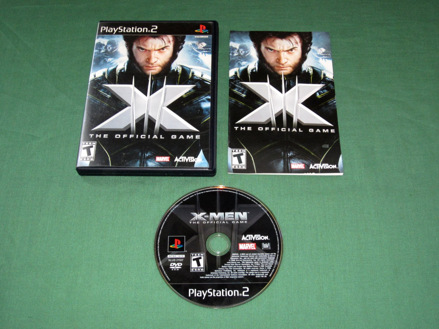 X-Men: The Official Game (Playstation 2)