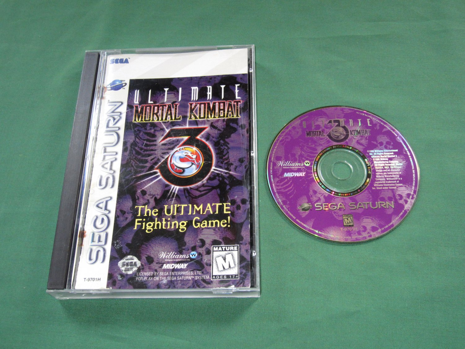 Ultimate Mortal Kombat 3 (Saturn)