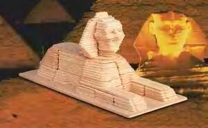 Egyptian Sphinx 3D Woodcraft Construction Kit