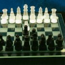 "8"" Glass Chess Set"