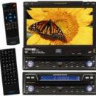 "Jensen VM9411 In-dash DVD player with 7"" video screen"