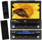 "Jensen VM9411 In-dash DVD player with 7"" video screen"
