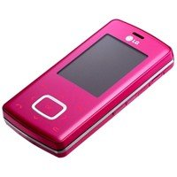 KG 800: The LG Chocolate (Pink) with touch-sensitive navigation (Unlocked)