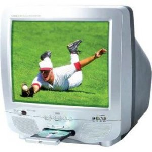 """COBY 20"""" Color TV WITH DVD PLAYER"""