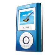 Coby 512mb mp3 player with color display and Digital FM Tuner