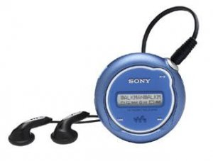 SONY Psyc Network Walkman NW-E105 512MB Digital Music Player (blue)