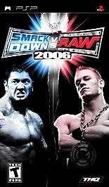 PSP - WWE SmackDown Vs. Raw 2006