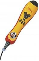 MEMOREX Mickey Karaoke Microphone with Built-in Songs