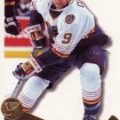 Shayne Corson Blues Pinnacle 1996 Hockey Trading Card