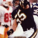 Junior Seau Pinnacle 1997 FootballTrading Card Chargers