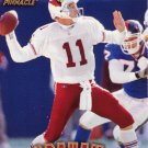 Kent Graham Pinnacle 1997 Football Trading Card Cardinals