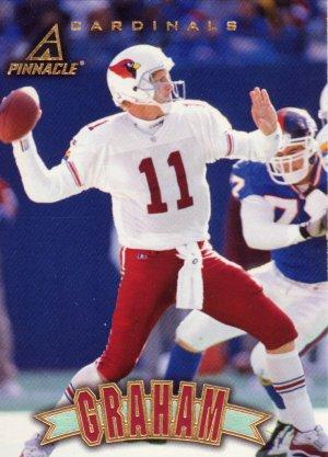 Kent Graham Pinnacle 1997 Football Trading Card Cardinals