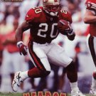 Garrison Hearst Pinnacle 1997 Football Trading Card 49ers