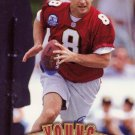 Steve Young Pinnacle 1997 Football Trading Card 49ers