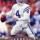 Jim Harbaugh Pinnacle 1997 Football Trading Card Colts