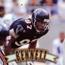 Cornelius Bennett Pinnacle 1997 Football Trading Card Falcons