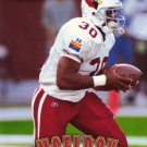 Football Trading Card Leeland McElroy Pinnacle 1997 Cardinals