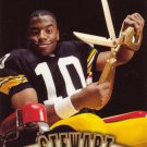 Kordell Stewart Pinnacle 1997 Football Trading Card Steelers