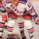 Ed Olczyk Topps Stadium Club 1993 Hockey Trading Card Rangers