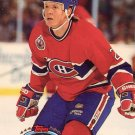 Gary Leeman Topps Stadium Club 1993 Hockey Trading Card Canadiens