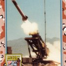 Desert Storm Trading Card Topps 1991 2nd Series Patriot The Scud Intercepter