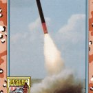 Desert Storm Trading Card Topps 1991 2nd Series Tomahawk Cruise Missile