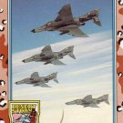 Desert Storm Trading Card Topps 1991 2nd Series Wild Weasel