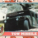 Desert Storm Trading Card Topps 1991 2nd Series Tow Missile