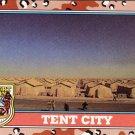 Desert Storm Trading Card Topps 1991 2nd Series Tent City